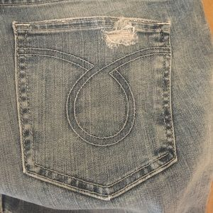 Big Star 31R  Maddie straight jeans